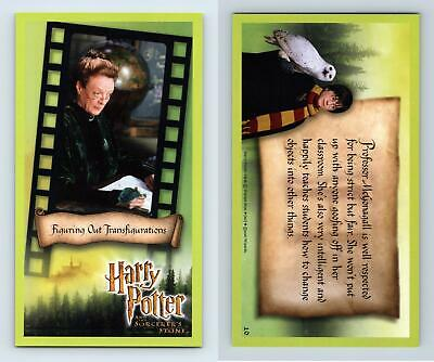 ... Transfigurations #10 Harry Potter & The Sorcerer's Stone 2001 WOTC Card