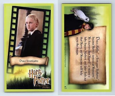 Draco Investigates #47 Harry Potter & The Sorcerer's Stone 2001 WOTC Card