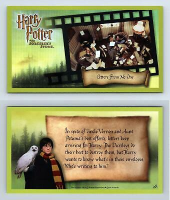 Letters... #28 Harry Potter & The Sorcerer's Stone 2001 WOTC Holofoil Card