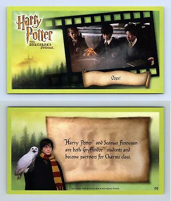 Oops! #29 Harry Potter & The Sorcerer's Stone 2001 WOTC Trading Card
