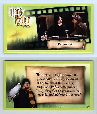 Plots & Pain? #30 Harry Potter & The Sorcerer's Stone 2001 WOTC Trading Card