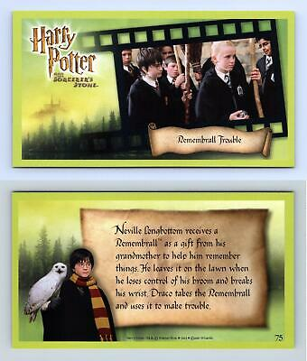 Remembrall Trouble #75 Harry Potter & The Sorcerer's Stone 2001 WOTC Card