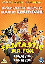 The Fantastic Mr Fox (DVD, 2010) freepost in very good condition