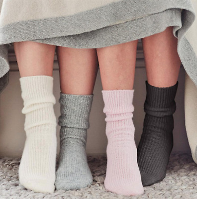 Luxurious 100% CASHMERE Socks, Soft, Cosy, Thermal and Warm, Lovely Ladies Xmas