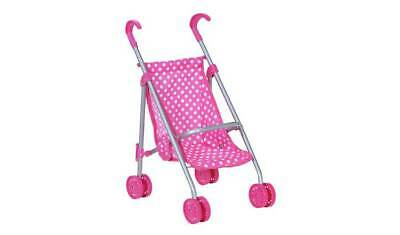 Chad Valley Baby Doll Pushchair Cart Foldable Pink For Baby Push Dolls Around