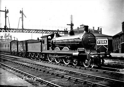 Jack Stretton Wards York 1910 NER GNR LY GE Midland steam sets of  6x4 BW photos