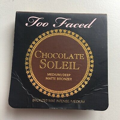 Too Faced Chocolate Soleil Matte Bronzer Face Make-up Contouring Travel Reise