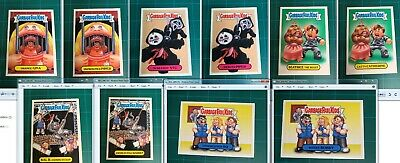 Garbage Pail Kids 5x7 Topps SDCC 2016 Exclusive Prime Slime Trashy TV Set