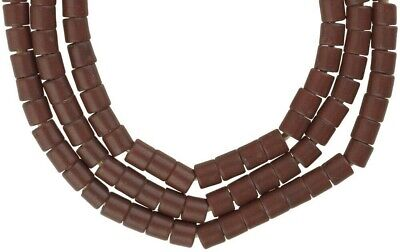 African trade beads old Bohemian Czech glass beads tile necklace Ghana trade