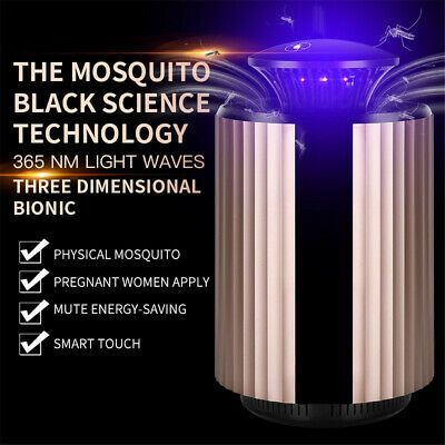 New 3in1 Smart LED UV Efficient Mosquito Killer Lamp Acoustic Deratization Light