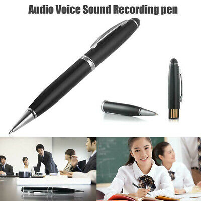 Diktiergerät Voice Recorder Stift Pen 8G USB Stick Sound Hidden Aufnahmestift DE