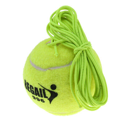 Singles Tennis Trainer Practice Ball Tennis Skill Exercise Ball with Cord