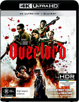 Overlord (2018) (4K Uhd/Blu-Ray) (2018) [New Bluray]