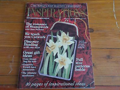 INSPIRATIONS MAGAZINE -  with UNCUT PATTERNS INCLUDED - No 31 - 2001