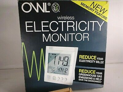 OWL Wireless Electricity Monitor Usage Set For Home / Business   Boxed