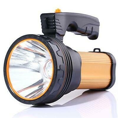 ALFLASH Rechargeable Torch Lantern High Power 7000 Lumens 9000mAh LED Gold