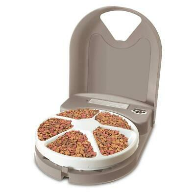 Petsafe Eatwell 5 Meal Pet Feeder One Size, Grey