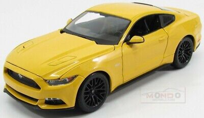 Ford Usa Mustang Coupe 5.0 Gt 2015 Yellow Maisto 1:18 MI31197Y Model