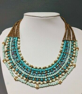 hand made jewelleryNecklaces for women,Egyptian Necklace,multi strand necklace,