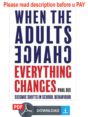 (P.D.F) When the Adults Change, Everything Changes by Paul Dix (eB00K,2018)