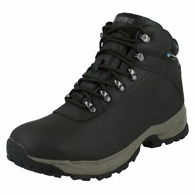 Mens Hi-Tec Leather Waterproof Walking Boots *Eurotrek Lite WP*
