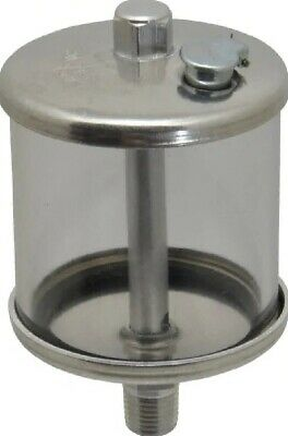 LDI Lube Devices R107-02 1 Outlet, Polymer Bowl, 236.6mL No Flow Oil Reservoir