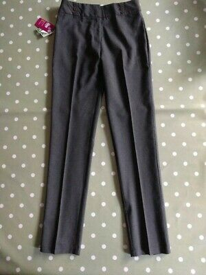 Tu Girls Grey School Trousers Straight Leg  x 1 Pair 15 Years BNWT!!