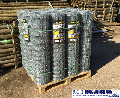 Tornado Wire 50M Roll of HT13/122/8 High Tensile Equine Horse Netting Fencing