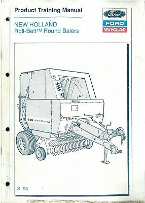 New Holland 851 Round Baler Operator Manual 42085113 Heavy Equipment Parts Accessories Heavy Equipment Manuals Books