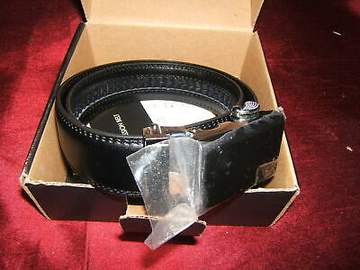 Mission Belt Boys Black Leather Vader Small With Buckle