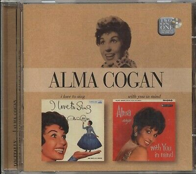 Alma Cogan - I Love To Sing / With You In Mind (2 Albums on 1 CD)