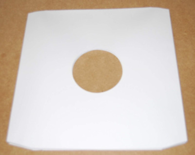"""Pack of 25 - 12"""" White Paper Record Sleeves"""