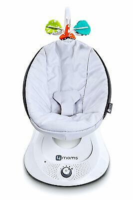 4moms RockaRoo infant seat / swing – Classic Grey used (IN RETAIL BOX)