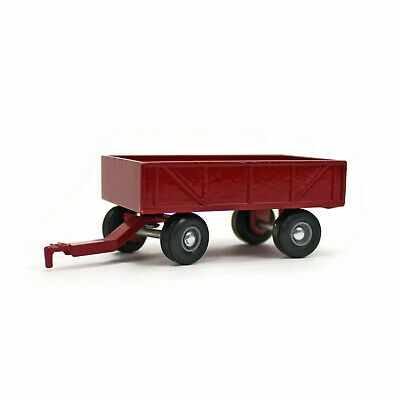 ERTL | Red BOX WAGON | Diecast Toy Farm Implement | 1/64 Scale | Vintage 1980s