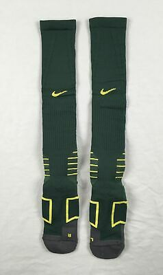 NEW Nike - 1 Pair Men'sGreen/Yellow Dri-Fit Socks (Multiple Sizes)