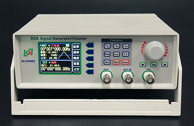 DDS LCD Function Signal Generator Counter Frequency Meter Signal Source 32 bit