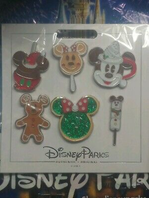 New Disney Parks (2019 Christmas - Holiday Treats Booster Pack) 6 Pin Set On ✋