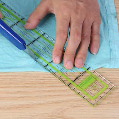 Sewing Cutting Yardstick Tailor Drawing Ruler Patchwork Feet Double-color
