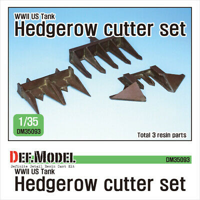 DEF. MODEL ,DM35093, WWII US Tank hedgerow cutter set (for 1/35 kit) ,1:35