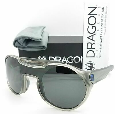NEW Dragon Dead Ball Matte Black Mens Round Mountaineering Sunglasses Msrp$190