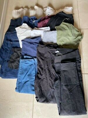 Maternity Clothes Size 10-12. In Good Ised Condition. 13 Items. Mixed Lot/bundle