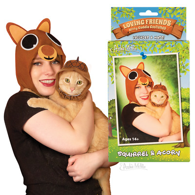 Kitty Cuddle Cat Costumes - Archie McPhee - Squirrel and Acorn