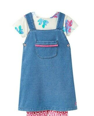 Baby Joule Joyce Posy 2 Piece Set / Blue 12-18 Months Brand New With Defect