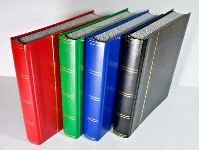 A4 Large Stock Book Stamp Album With 60 Black pages - SAVE 45%  -  £18.95