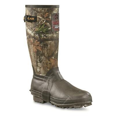 New Extra Light Mens 15 Insulated Hunting Rubber Boots 400-grams Realtree Edge