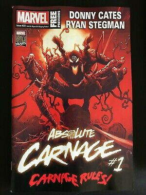 Marvel Free Previews #23 (2019) Nm Absolute Carnage #1, Marvel Comics #1000