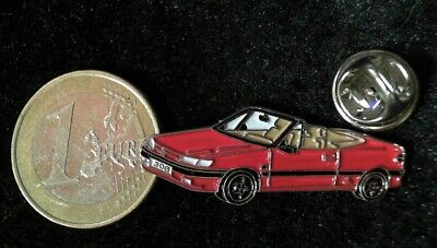 PEUGEOT Pin Badge Peugeot 306 Cabriolet rot