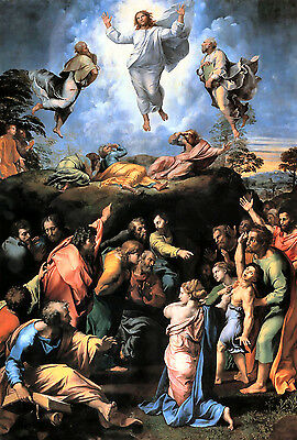 Old Masters A4 Reprint 251 The Transfiguration 1518-1520 Raphael