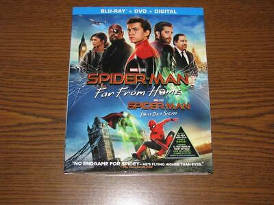 Spider-Man: Far From Home (Blu-ray/DVD, 2019, 2 Discs, No Digital) Slip Cover