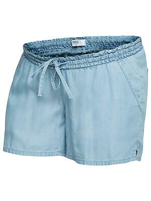Mamalicious Nesli Maternity Denim Shorts / Blue XL Brand New Free P&P UK Seller